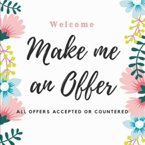All reasonable offers are always welcome!
